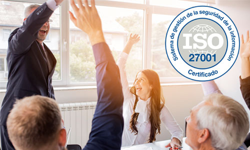 ¡ISO 27001: Logramos la certificación!